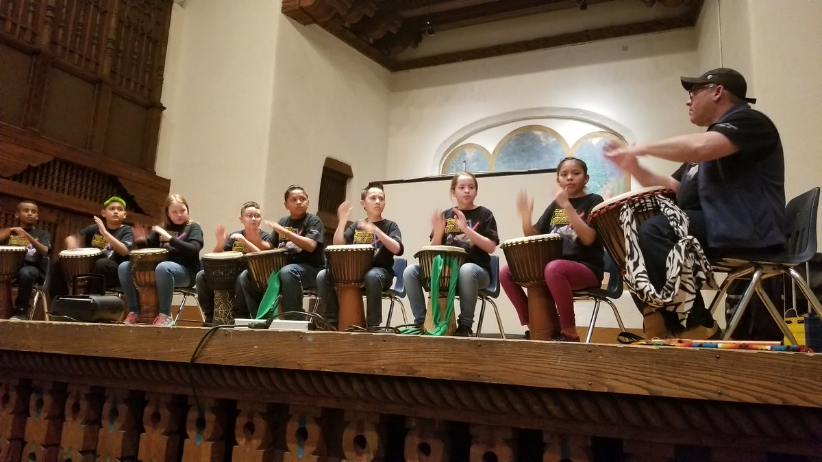Photo of Gallup Public School's World Music Ensemble