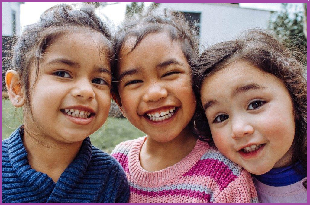 picture of three girls smiling
